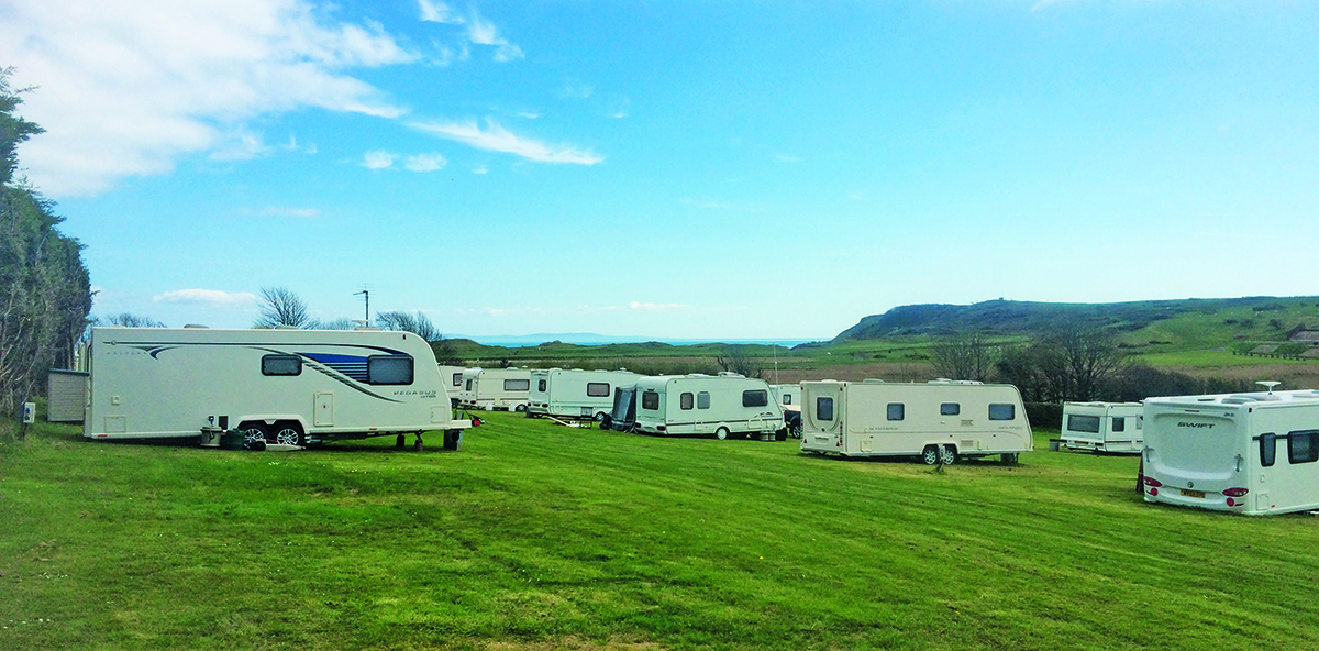 Camping in Tenby